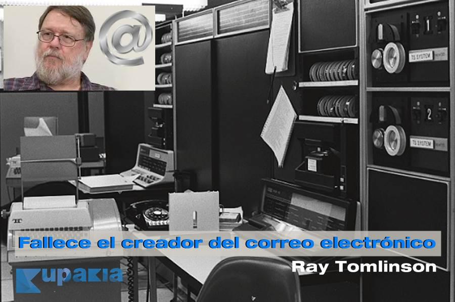 Ray tomlinson inventor del correo electroncio