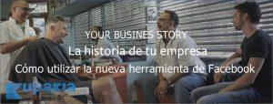 your business story videos de branding en facebook