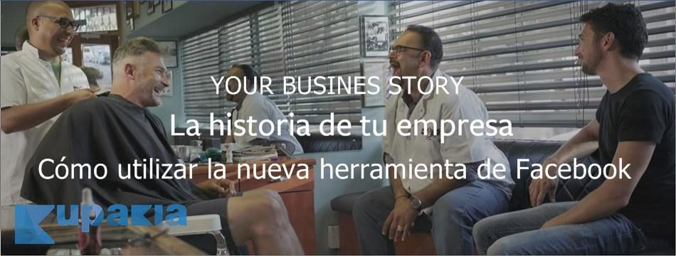 your business story videos de branding en facebook