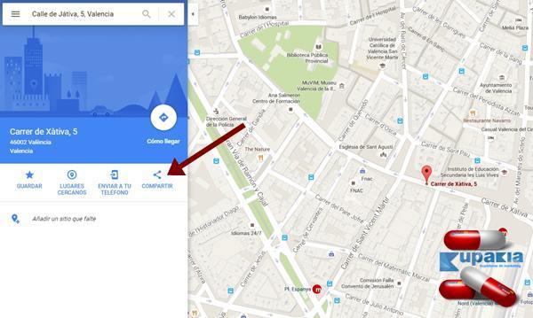 como insertar un mapa en un articulo del blog