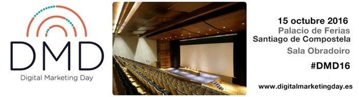 DMD Galicia 2016 Sala Obradoiro del Palacio de Ferias de Santiago de Compostela