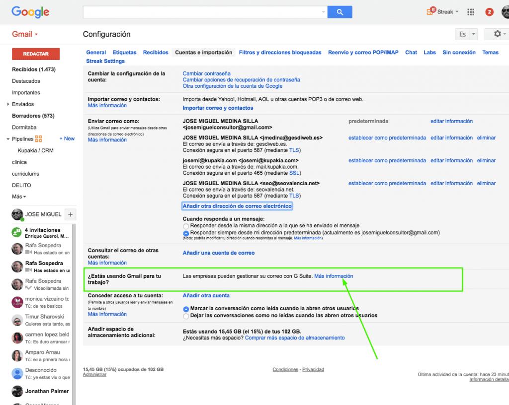 contratar Google Suite