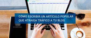 Cómo atraer trafico a tu blog